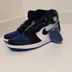 Jordan Retro 1 Royal toes